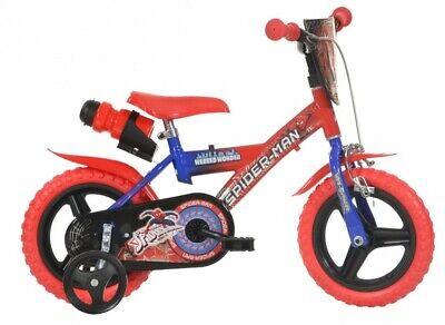 "Dino Bikes 12"" -Inch Spiderman Bicycle (ref SP712)"
