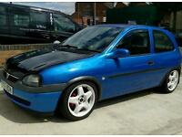 Vauxhall corsa b, c20xe redtop. PRICE DROPPED £1500
