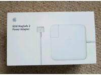 Genuine Original Apple Mac 85W Magsafe 2 power adapter
