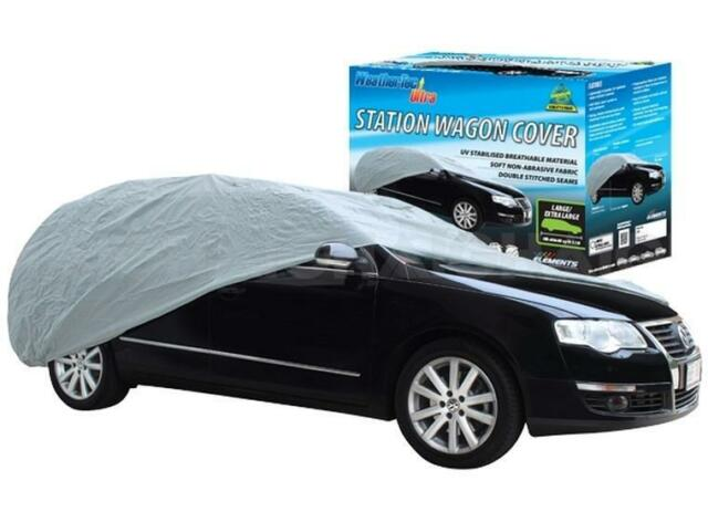 Car Cover Suits Station Wagon up to 5.1m WeatherTec Ultra Soft Non Scratch CC38