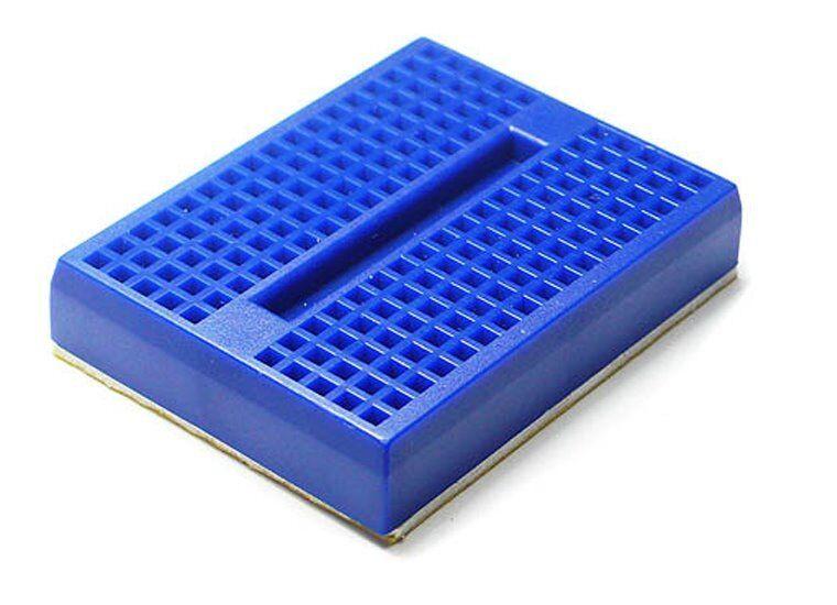 Mini Solderless Prototype Breadboard Color: Blue