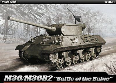 Academy 1/35 Plastic Model Kit M36/M36B2 Battle of the Bulge #13501