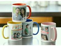 Personalized mugs, t shirts, hoodies, candles read description for more info (not car bike shoes)