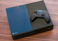 Xbox One MINT CONDITION With Games