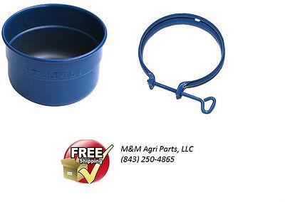 Oil Bath Air Cleaner Cup Clamp Case 200b 300 300b 320 430 470 Gas Tractor