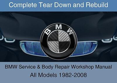 BMW ALL Models Service Repair Workshop Manual Complete Tear Down Rebuild DVD-ROM