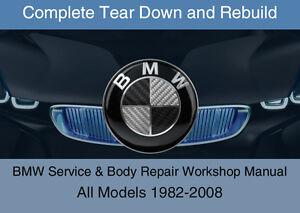 BMW TIS + WDS + ETK / EPC - OEM 1982-2008 Service Workshop Repair Manual DVD