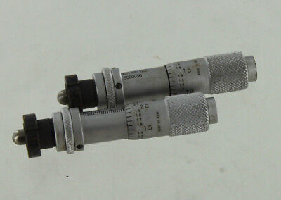 2 Mitutoyo 148-122 Micrometer Head Lot