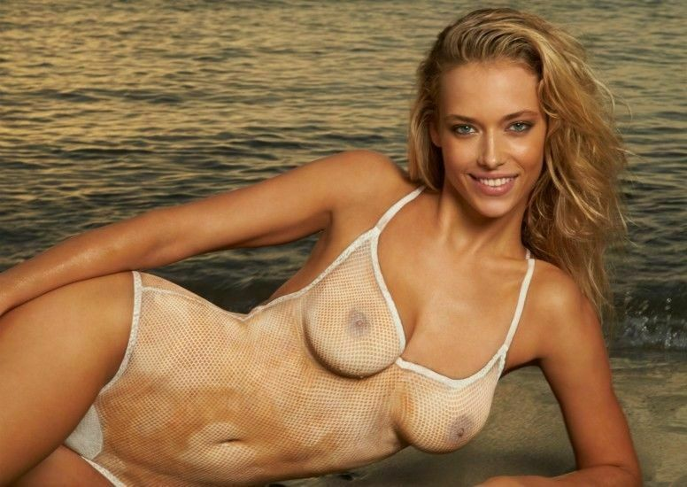 Hannah Ferguson Body Paint 8x10 Picture Celebrity Print
