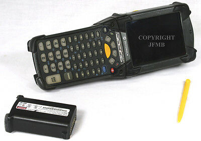 Symbol Motorola Mc9094-kuchjeha6wr Wireless Laser Barcode Scanner Windows Mobile