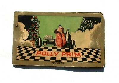 Antique Vtg Needle Book Sample Case - Advertising of Polly Prim