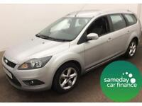£115.78 PER MONTH ON FINANCE 2010 FORD FOCUS 1.6 ZETEC ESTATE PETROL AUTOMATIC