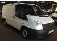 ONLY £193.72 PER MONTH WHITE 2012 FORD TRANSIT 2.2 280 SWB PANEL VAN