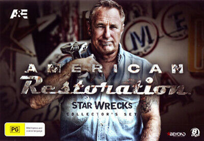 American Restoration Star Wrecks (Collector's Set) NEW PAL Series Cult 8-DVD Set