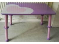 Small Children's Table