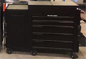 MAC 5 drawer utility tool car with side cabinet
