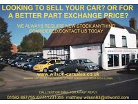 QUALITY CARS WANTED FOR CASH-ANYTHING CONSIDERED