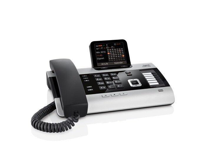 Gigaset DX600A ISDN Komfort Telefon Schnurgebundes Telefon ISDN Anrufbeantworter
