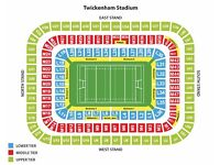 England v France RBS 6 Nations Twickenham Saturday 4th February