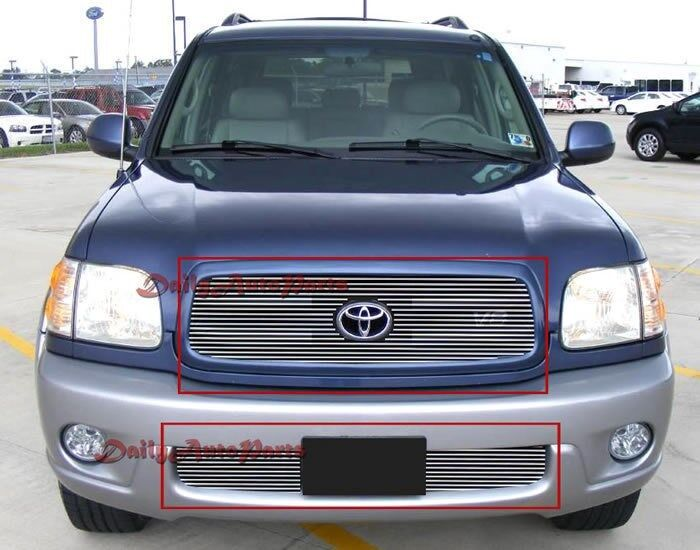 Aluminum Billet Grille Customized For 01-04 Toyota Sequoia
