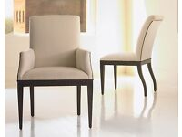 Julian Chichester - 6 London dining chairs & 2 carver chairs
