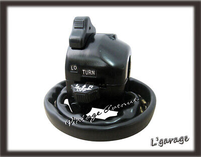 [LG] (TW237) YAMAHA RD400 XS360 XS500 HANDLE BAR HIGH/LOW HORN SWITCH LEFT LH