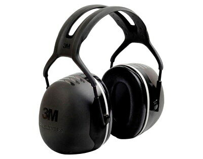 3m X5a Peltor 31db Over-the-head Ear Muffs Black