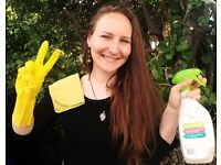 £11/H ECOLOGICAL CLEANING around Brighton and Hove, cleaning products already included in the price!
