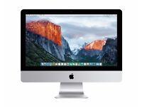 Apple iMac 21.5-inch / Core i3 / 4GB RAM / 500GB HDD / El Capitan