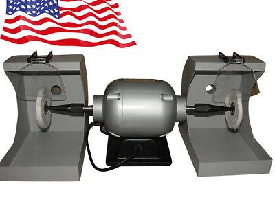 Dental Lab Equipment Polishing Handpiece 550w 3000rpm New Dental Polishing Lathe
