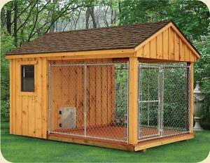 Dog Kennel with Run For Sale