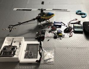helicopter T-Rex 500 EX fully loaded and more