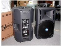 Set of RCF 325A Active Speakers