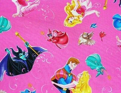 Aurora The Princess (DISNEY FABRIC  SLEEPING BEAUTY  PRINCESS AURORA  MALEFICENT COTTON  BY THE)