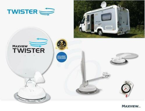 Maxview Twister 85 cm. met single lnb