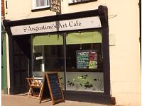 Artists and Photographers. Exhibition Space Available at St Augustine's Art Cafe