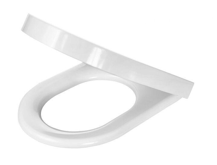 Peonia Zero WC Sitz mit absenkautomatik weiß mit Metallscharnier
