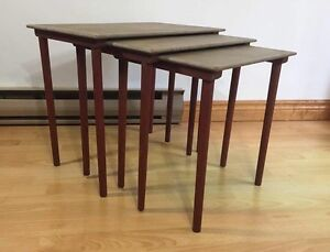 Chalk Painted nesting tables