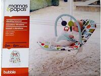 Mamas & Papas vibrating baby bouncer £15