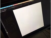 Huion gt220 21.5inch graphics tablet. Perfect condition
