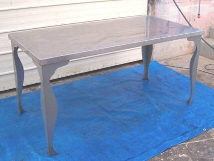 Hyttan Steel Outdoor Table