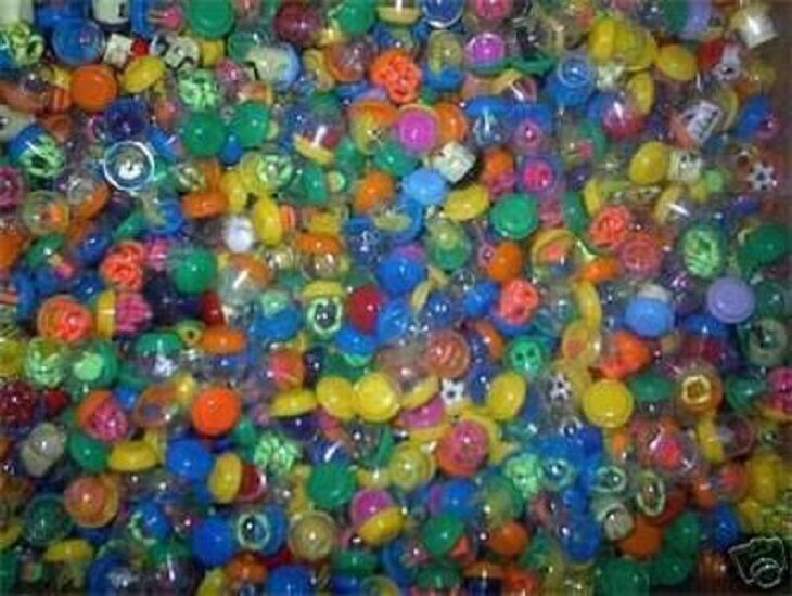 "1000 1"" TOY FILLED VENDING CAPSULES BULK MIX PARTY FAVOR"