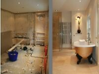 DAY RATE OR FIXED PRICE MULTI-SKILLED BATHROOM INSTALLATION FITTERS BUILDERS HANDYMEN REFURBISHMENT