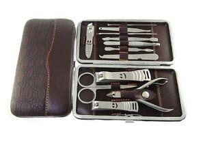 Amedeo-Exclusive-12-Piece-Cutter-Cuticle-Clipper-Manicure-Pedicure-Case-Gift-Set