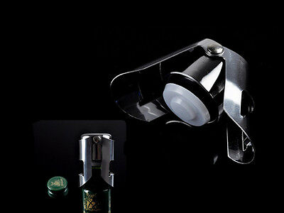KE UK Stainless Steel Champagne Stopper Sparkling Wine Bottle Plug Sealer