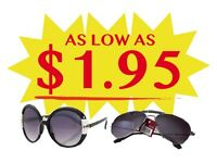 ONE TIME ONLY DEAL! DESIGNER-INSPIRED SUNGLASSES! MUST SELL!