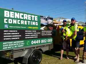 Thankyou!! BenCrete Concrete and Constructions Morley Bayswater Area Preview