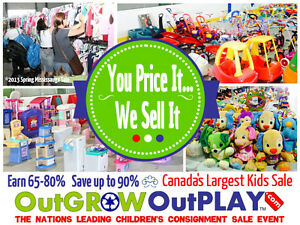 OutGROW OutPLAY MEGA Kids Sale in Kelowna!!!