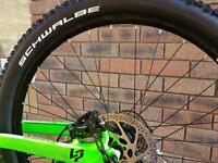 Full Suspension MTB mountain bike