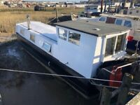 Static Residential Narrowboat - Sage
